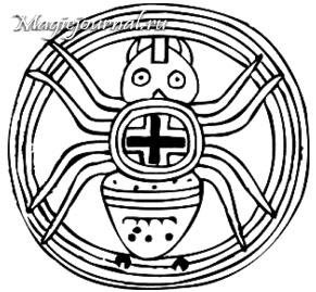 Мифологический образ Паука и Космического порядка